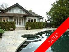 Shaughnessy House for sale:  5 bedroom 6,364 sq.ft. (Listed 2006-02-10)