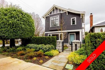 Kitsilano House for sale:  3 bedroom 2,965 sq.ft. (Listed 2016-01-30)
