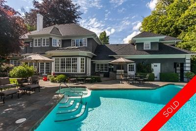 Sensational First Shaughnessy Estate