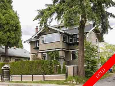 Kitsilano House for sale:  5 bedroom 3,898 sq.ft. (Listed 2017-07-09)
